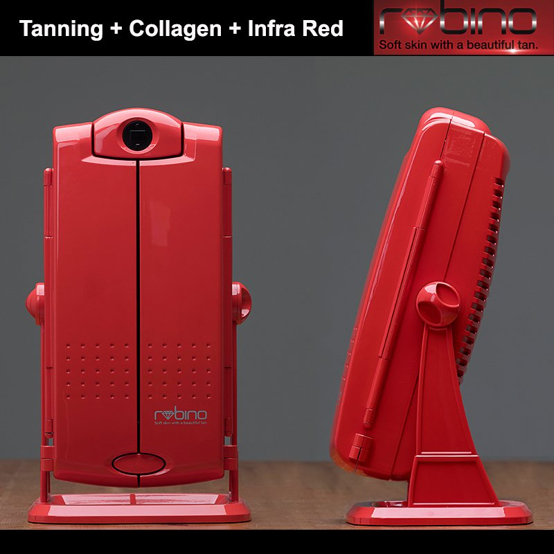 RUBINO TANNING RED LIGHT INFRARED LAMP