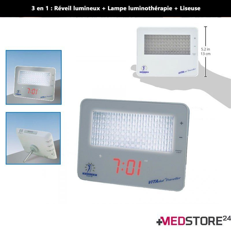 LIGHT THERAPY DEVICE: light alarm clock VITACLOCK