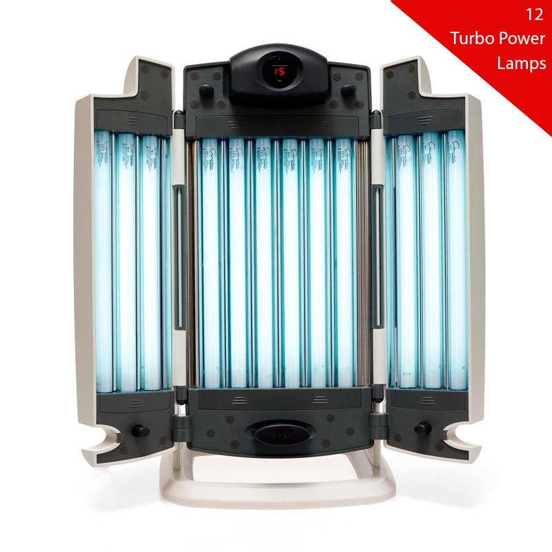 12 turbo power lamps for facial tanner